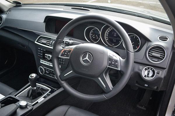 Mercedes C220 CDI Interior