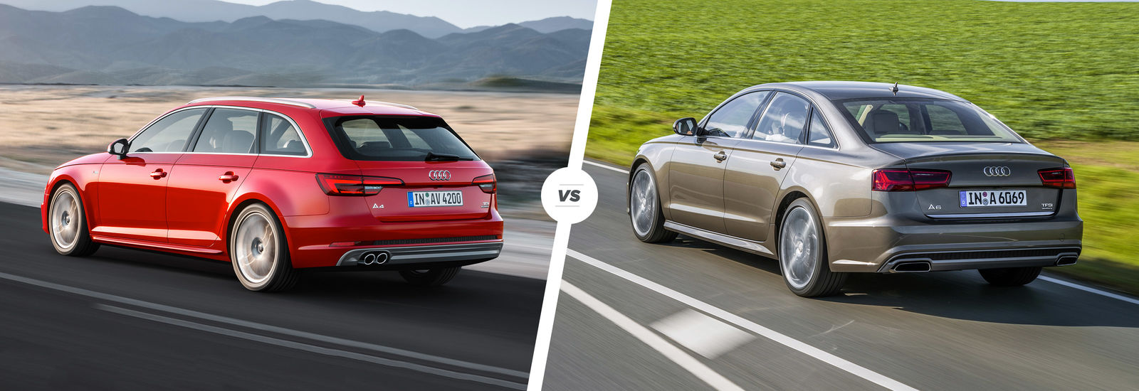 Audi A4 vs A6 side-by-side comparison | carwow
