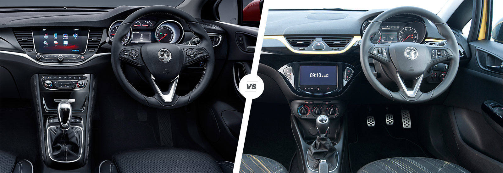 Vauxhall Astra vs Corsa side-by-side comparison | carwow