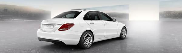 Mercedes c class colour guide 2015 carwow for Mercedes benz polar white paint