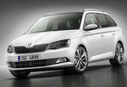 2015 Skoda Fabia estate stretches out