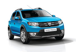 Dacia sandero stepway blue