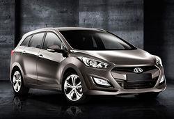 Hyundai i 30 tourer 2013 grey main