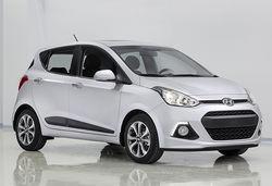 Hyundai i10 2014 white front 0