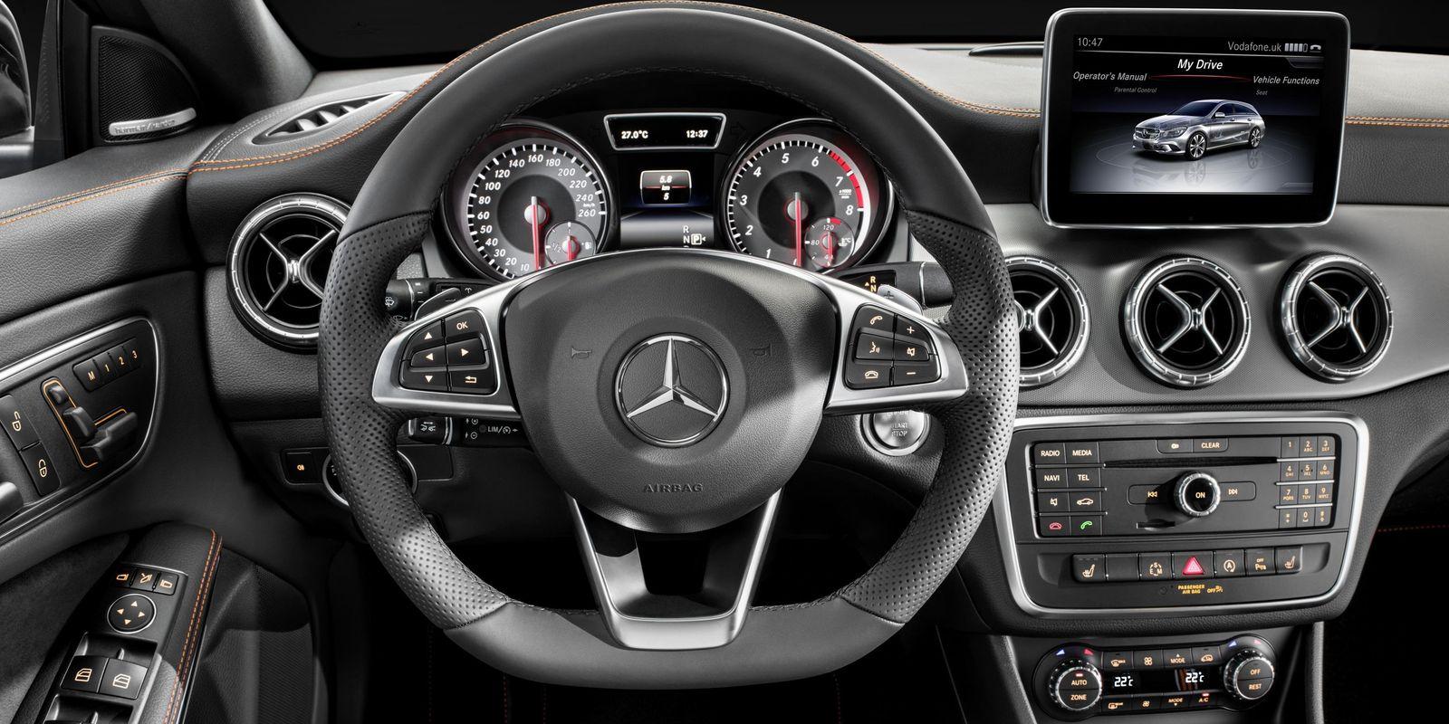 Mercedes CLA vs CLA Shooting Brake Sidebyside comparison  carwow