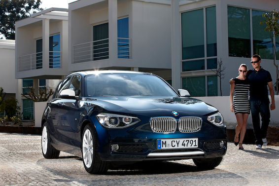 1-Series new in blue