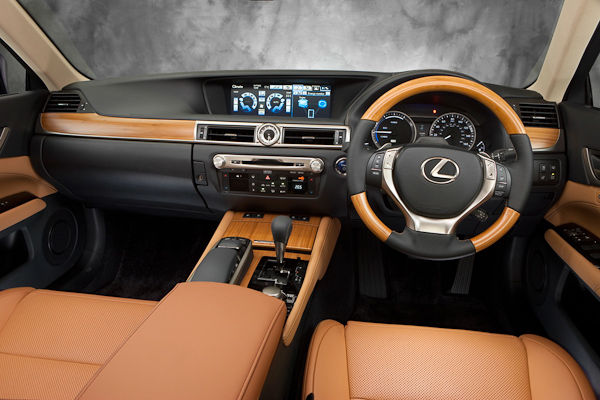 2012 Lexus GS UK interior