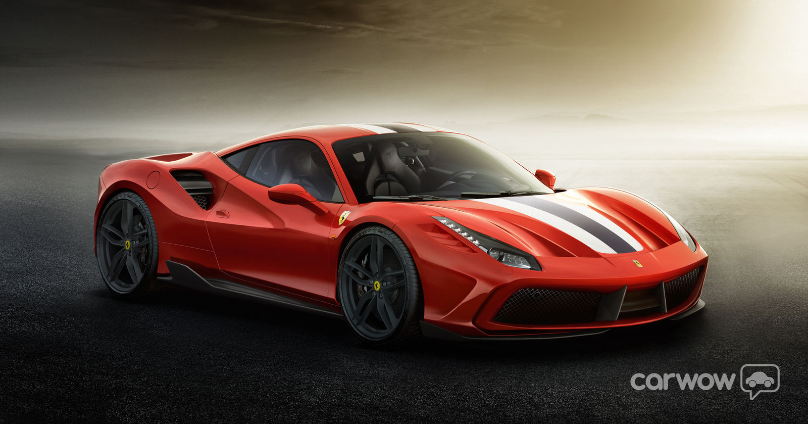 carwow imagines the insane ferrari 488 gto carwow. Black Bedroom Furniture Sets. Home Design Ideas
