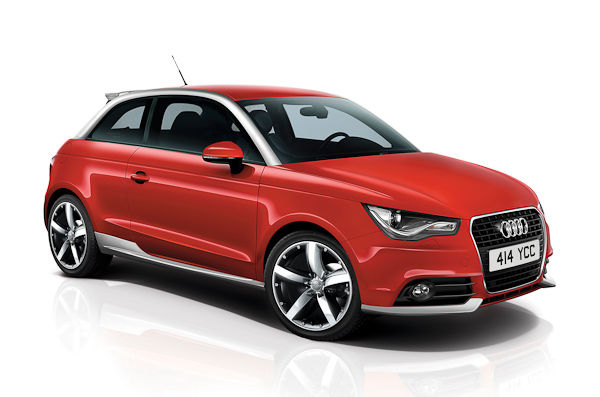 audi a1 contrast edition and black edition details carwow. Black Bedroom Furniture Sets. Home Design Ideas