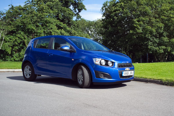 Chevrolet Aveo Front Blue