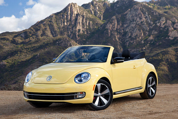 2013 Beetle Cabriolet Yellow