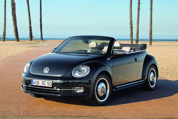 2013 Beetle Cabriolet 50s Edition