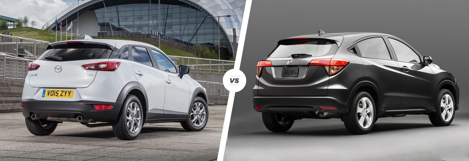 Cx 3 Vs Hrv >> Mazda Cx 3 Vs Honda Hr V Crossover Clash Carwow