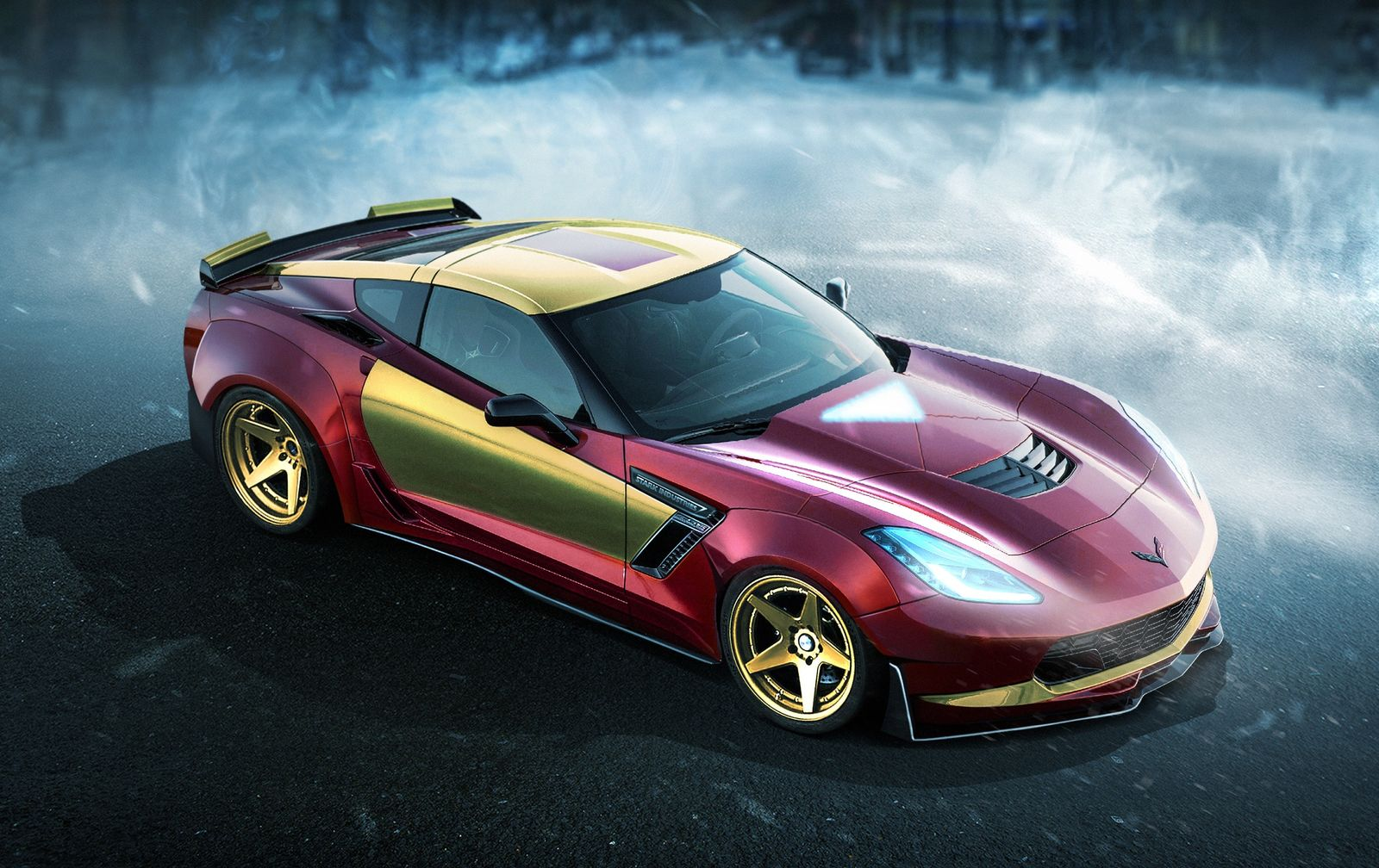 Iron Man's Chevrolet Corvette Z06 - carwow