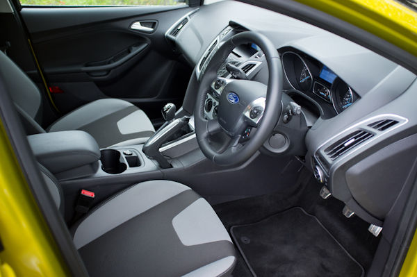 Ford Focus Front Seats