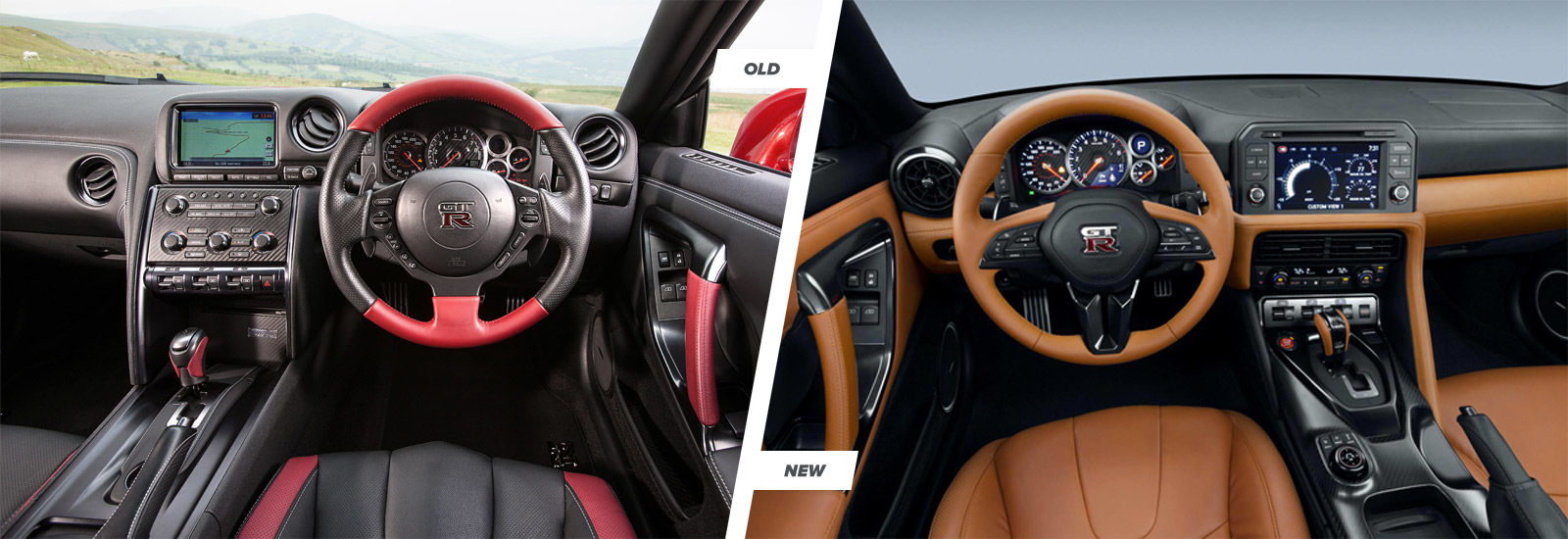 Nissan nissan gtr interior : Nissan GT-R facelift: old vs new compared | carwow