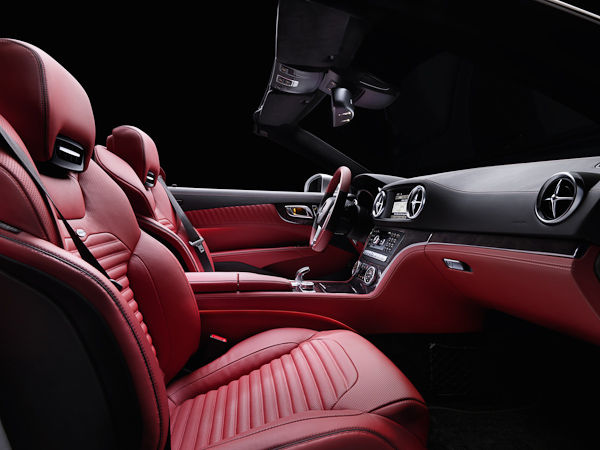 2012 Mercedes SL interior