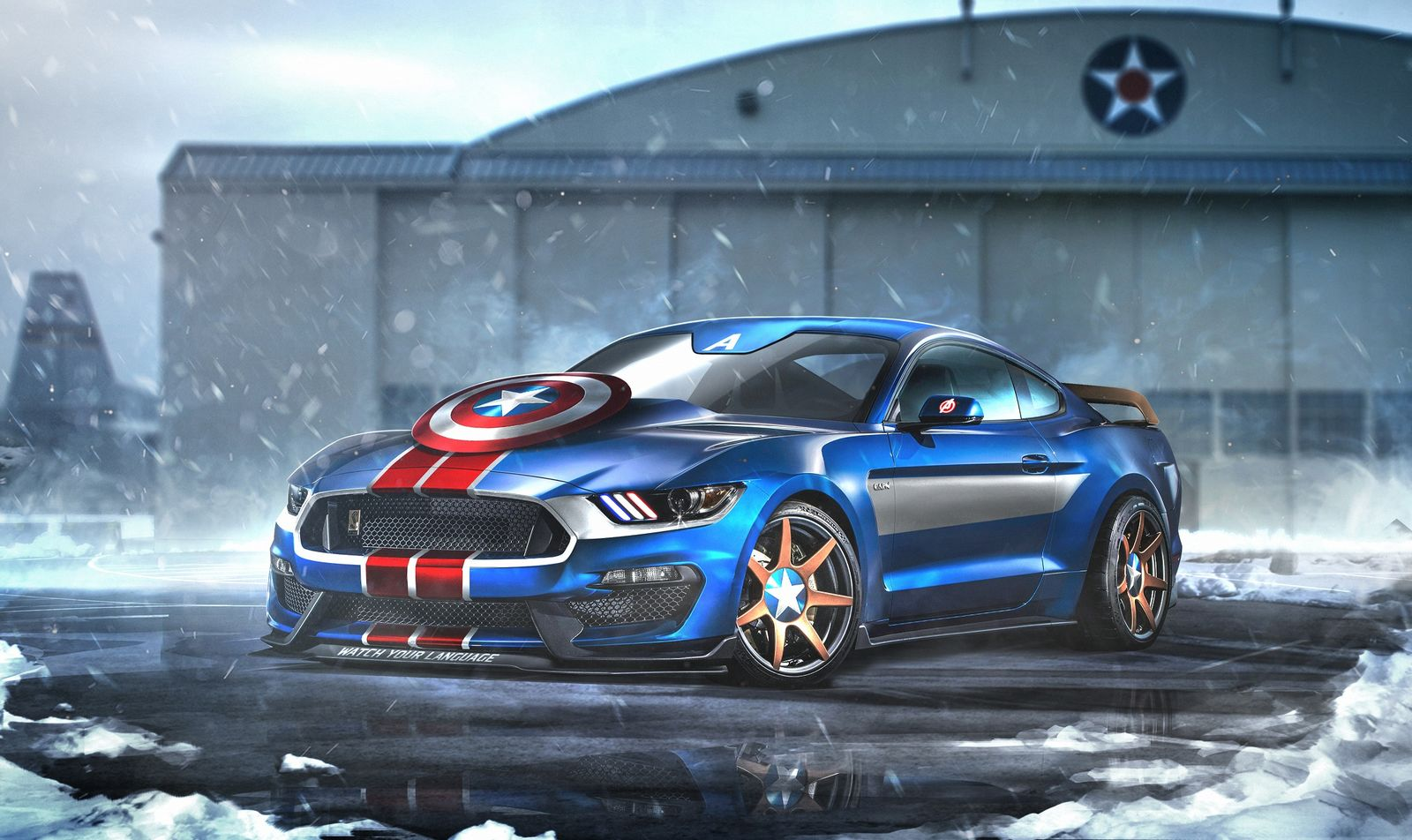 Captain America's Ford Mustang GT350R - carwow