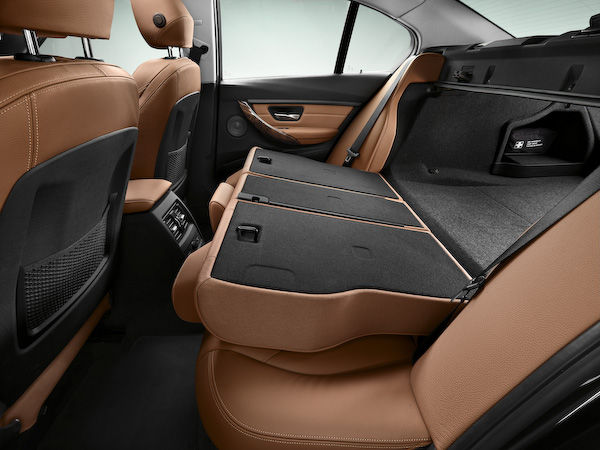 New 3-Series back seats