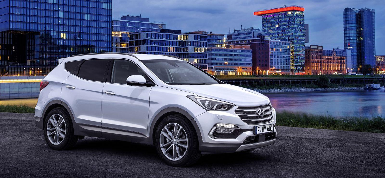 Hyundai Santa Fe sizes and diions guide | carwow