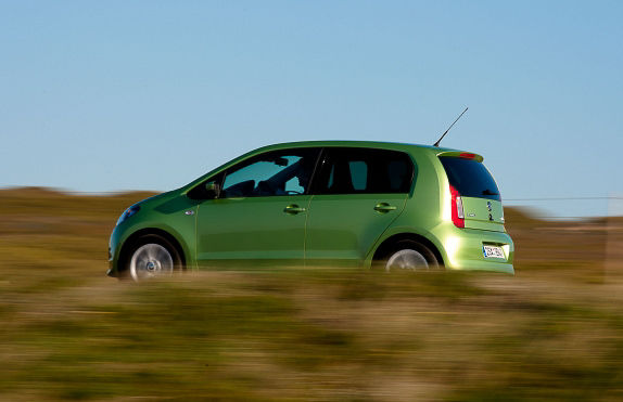 Profile Skoda Citigo green