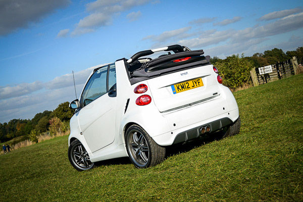 Smart Fortwo Brabus Cabriolet Rear