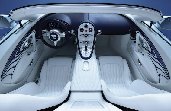 Veyron L'Or Blanc interior