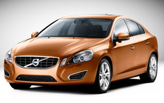 new Volvo S60 orange
