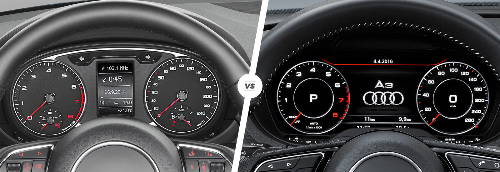 Audi A1 vs A3 side-by-side comparison   carwow