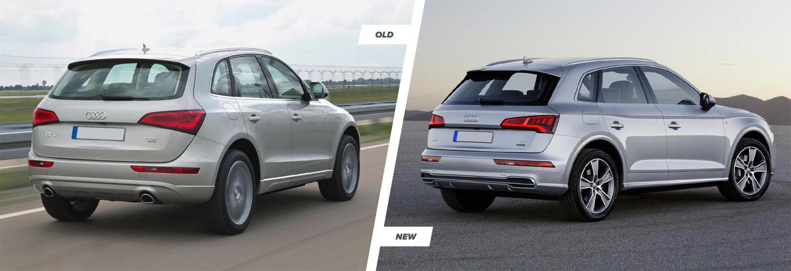 Audi Q5 Suv New Vs Old Compared Carwow