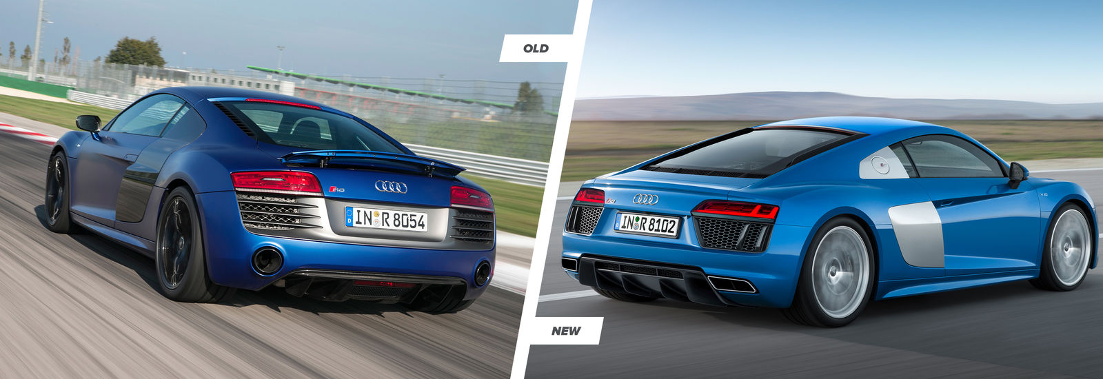 2015 Audi R8 Tt And Old R8 Comparison Carwow