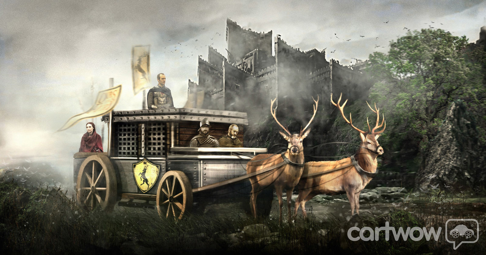 Game Of Thrones Battle Cars Carts By Carwow Carwow