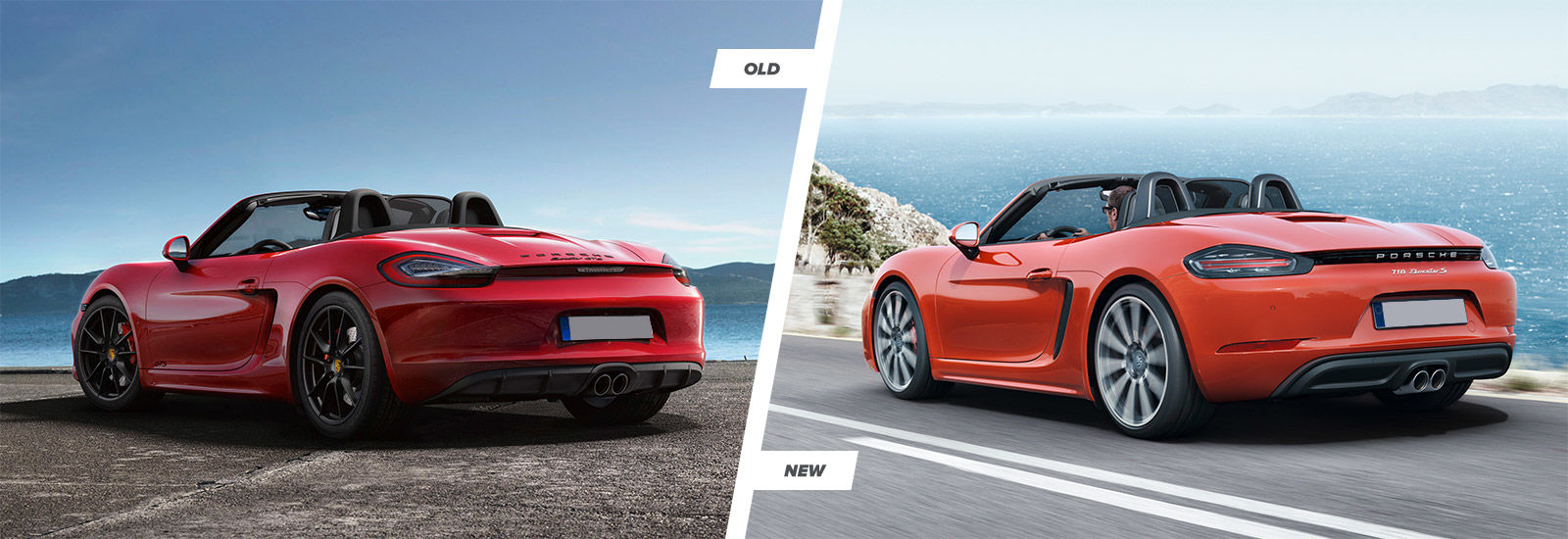 Porsche 718 Boxster old vs new price and release date