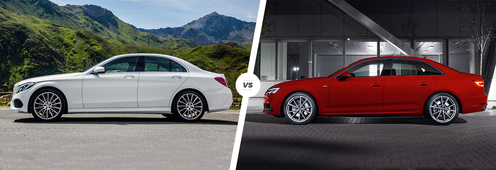 Audi audi a4 coup : Mercedes C-Class vs Audi A4 comparison | carwow