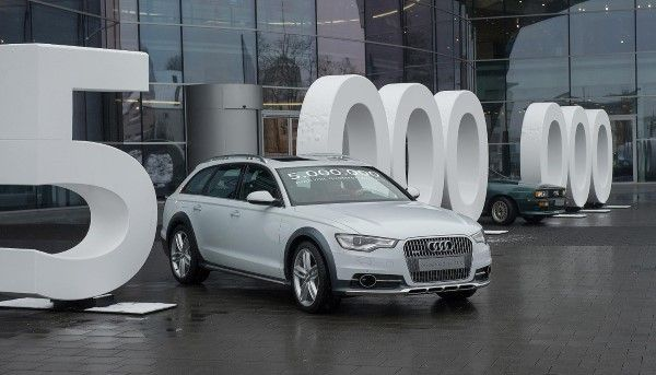Audi Allroad 5 million