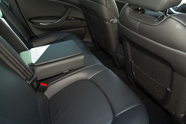 Citroen C5 Tourer Rear Seats