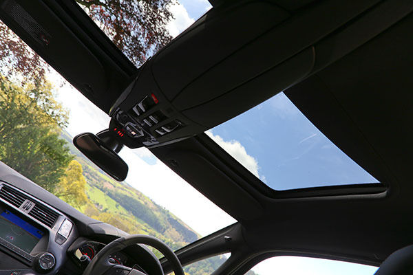 Citroen DS5 Sunroof