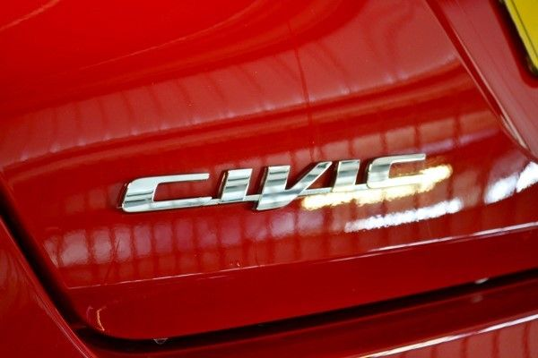 Honda Civic badge