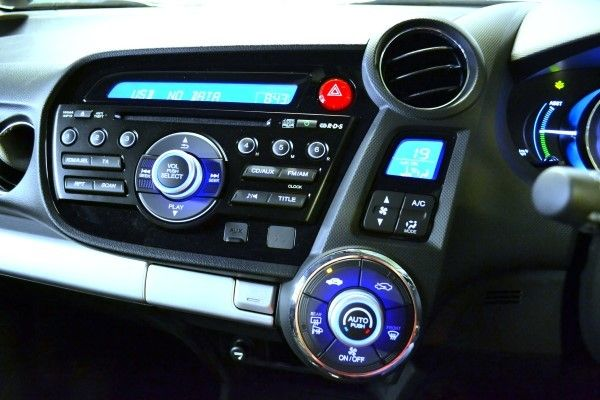 Honda Insight console