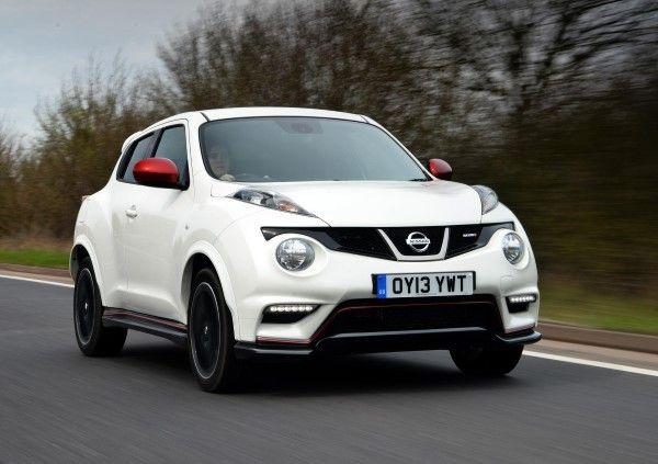 Nissan Juke Arctic White Paint