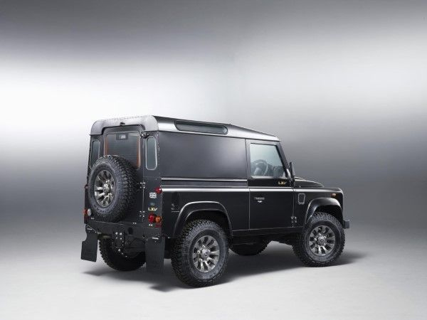 Land Rover Defender LXV rear