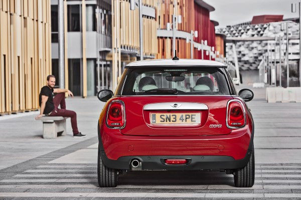New MINI rear