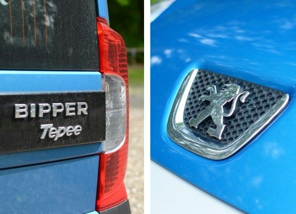Peugeot Bipper badges