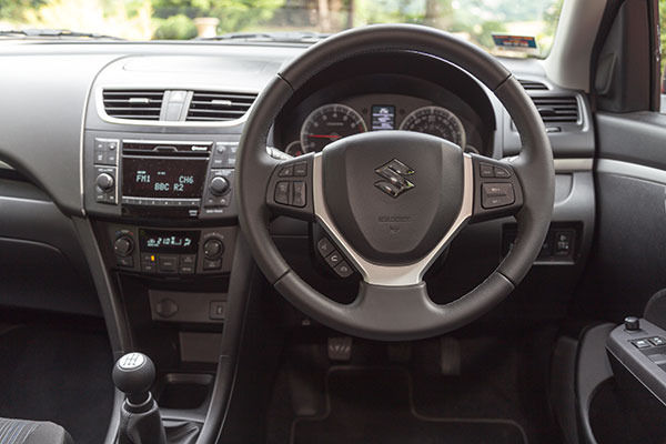 Suzuki Swift 4x4 Interior Dash