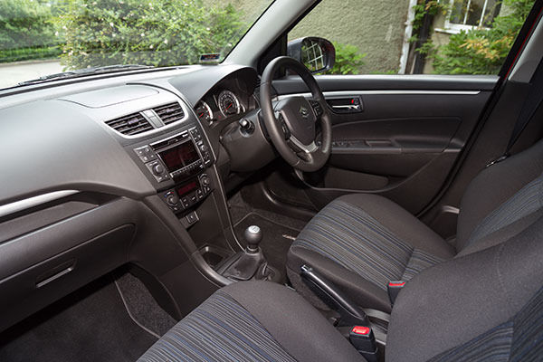 Suzuki Swift 4x4 Interior