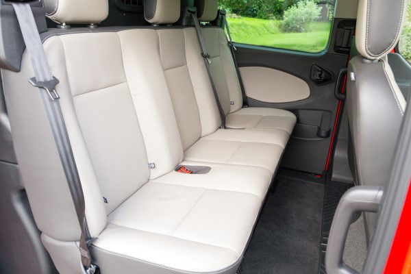 Ford Transit Custom rear seats