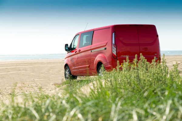 Ford Transit Custom beach