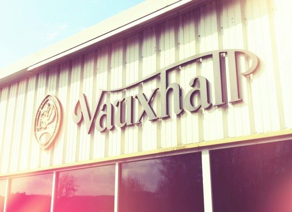 Vauxhall classic sign