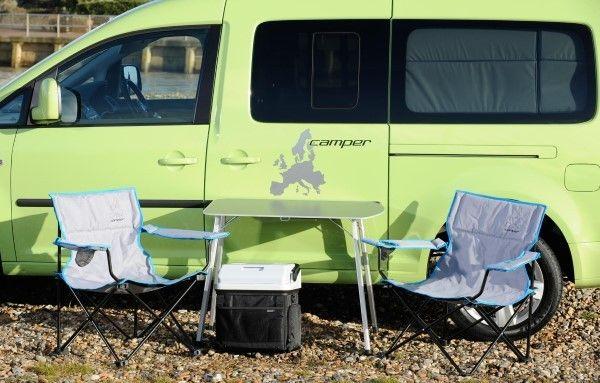volkswagen caddy maxi camper summer fun carwow. Black Bedroom Furniture Sets. Home Design Ideas