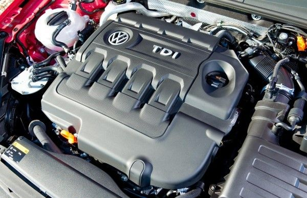 VW Golf engine